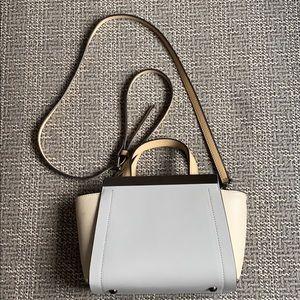 alberta di canio small crossbody leather handbag